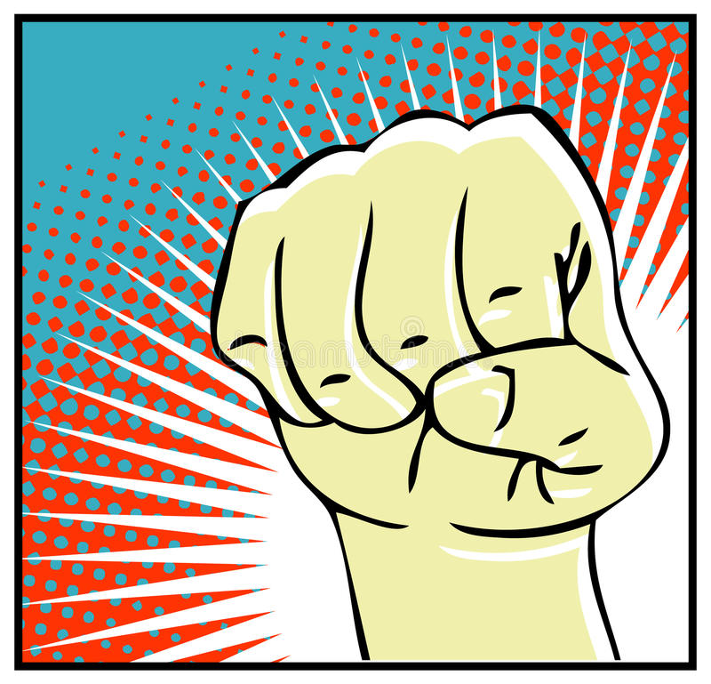 Download Human hand stock illustration. Image of power, thumb - 17433671