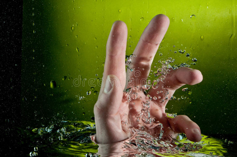 Download Human Hand Entering Another Dimension Royalty Free Stock Images - Image: 18052789