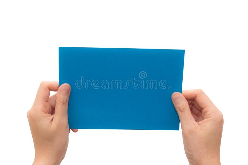 download human hand hold virtual business card stock image image of hold clipping - Virtual Business Card