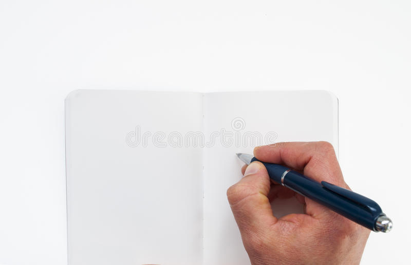 Download Human Hand With Pen Royalty Free Stock Images - Image: 37817549