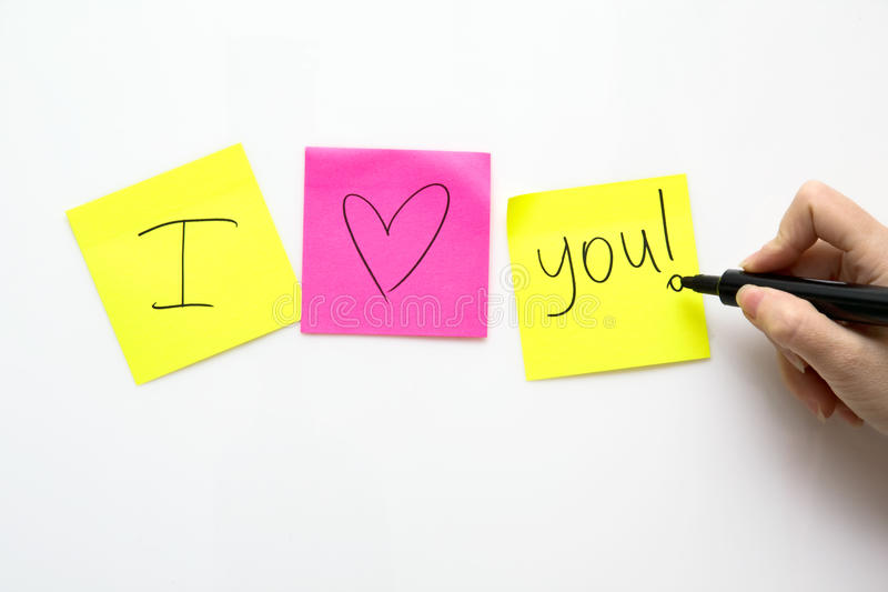 Download Human Hand  Write On Notes Paper Stock Photo - Image: 14059226