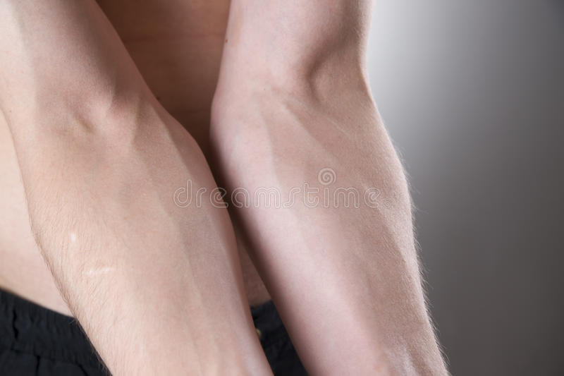Human hands close-up royalty free stock photos
