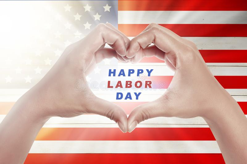 Labor day concept royalty free illustration