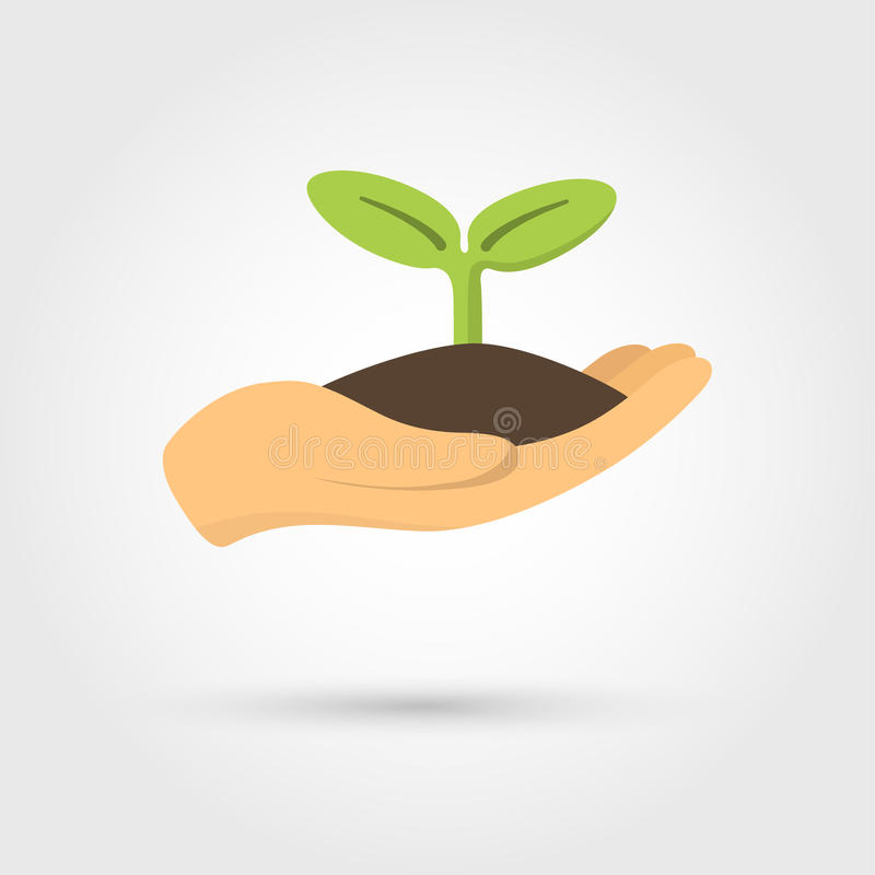 Free Human Hands Holding Sprout Stock Photos - 94444773