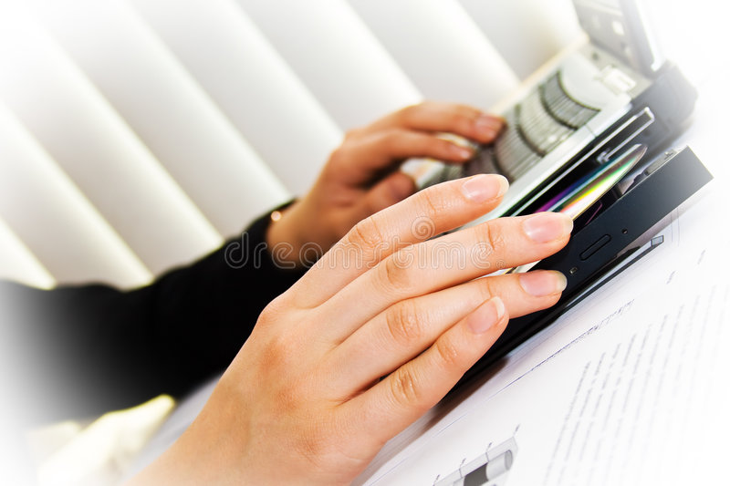 Download Human hands and laptop stock photo. Image of communication - 4789692