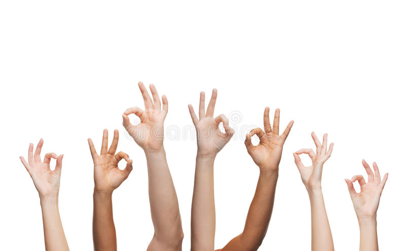 Download Human Hands Showing Ok Sign Stock Photo - Image: 39637439