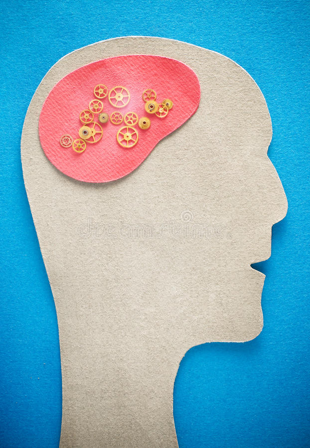 Download Human Head With Gears Stock Images - Image: 12046674