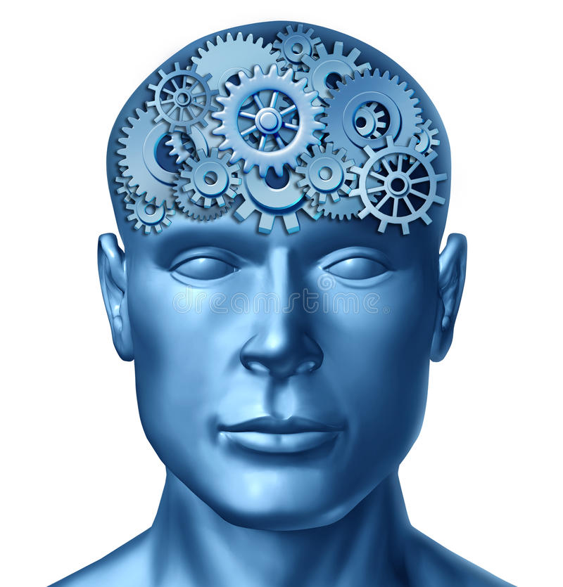 Human intelligence stock illustration