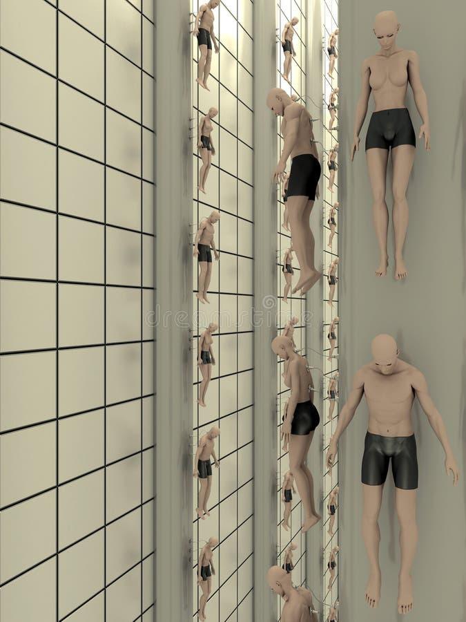 Download Human Lab Creation stock illustration. Illustration of tile - 21042980