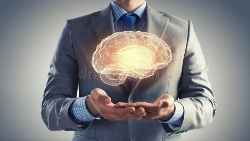 Human mind stock image