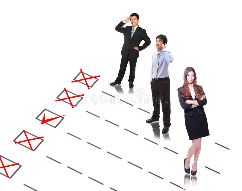 Download Human Resources concept stock photo. Image of isolated - 23611680