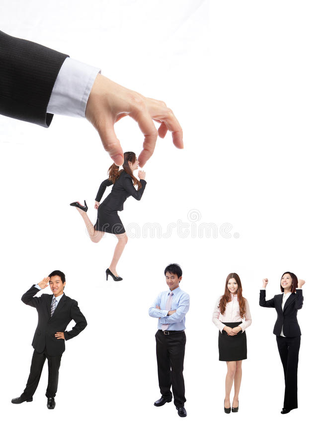 Human Resources Concept Royalty Free Stock Photo