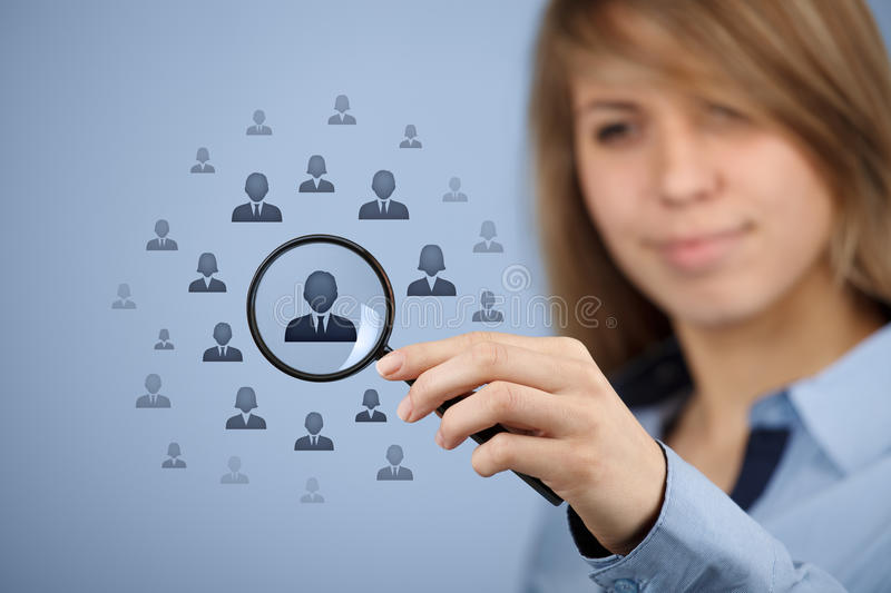 Download Human resources and CRM stock photo. Image of data, blue - 31486904