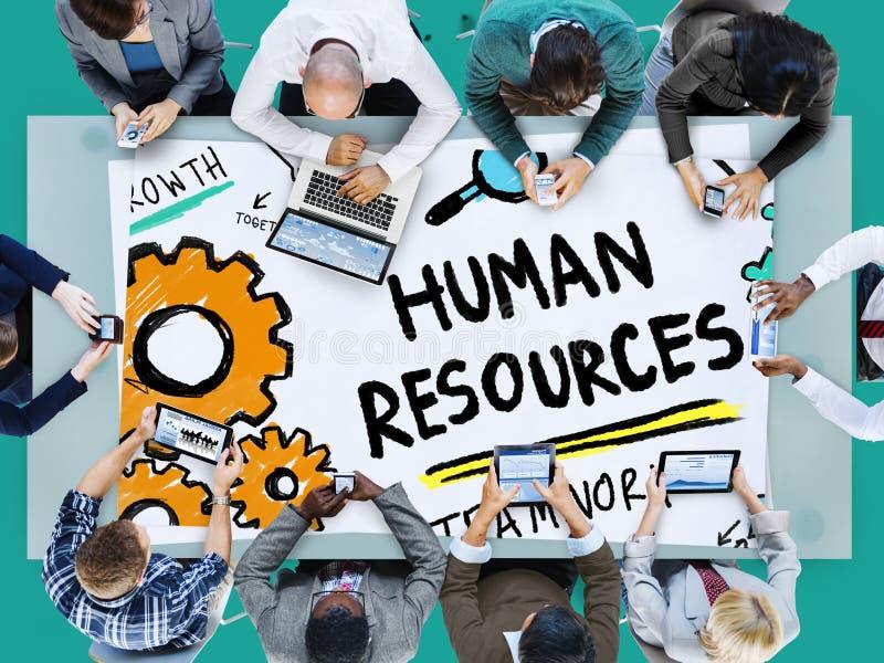 Human Resources Employment Job Recruitment Profession Concept stock photo