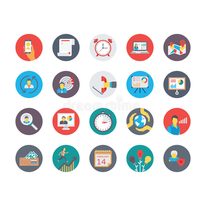 Human Resources Flat Circular Icons Set 2. Get your next human resource icons that you can use in your project related business, human management and stock illustration