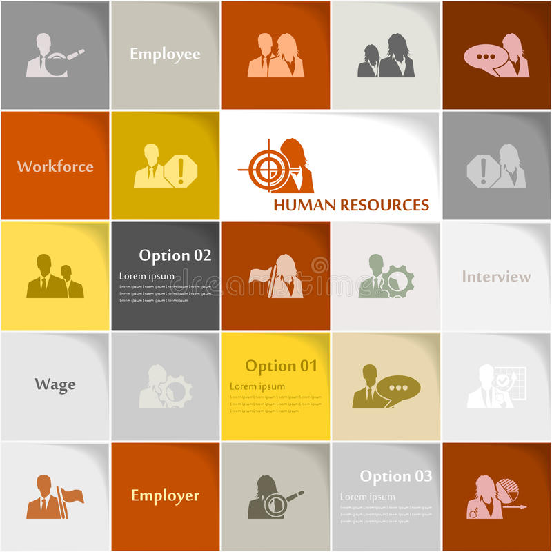 Download Human resources stock illustration. Image of choice, human - 33034397