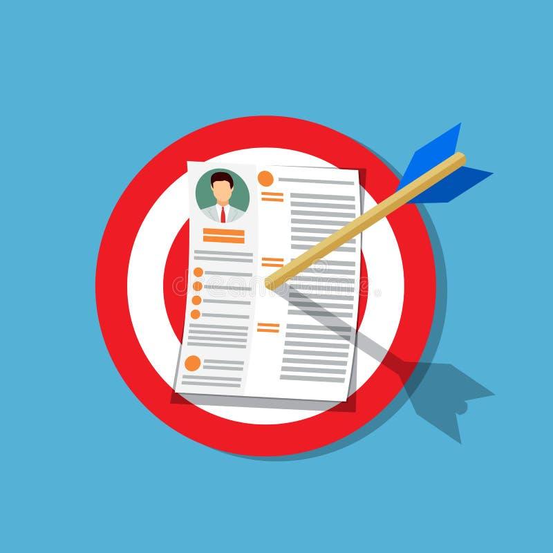 Human resources management vector illustration