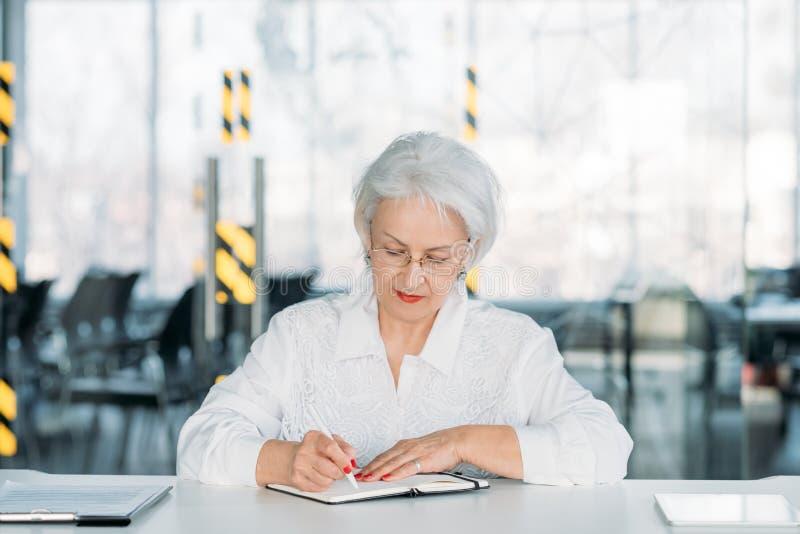 Human resources manager business woman stock photos