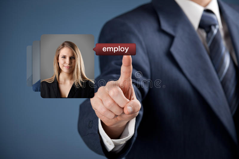Human resources and gender equality stock images