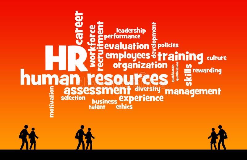 Human resources stock illustration