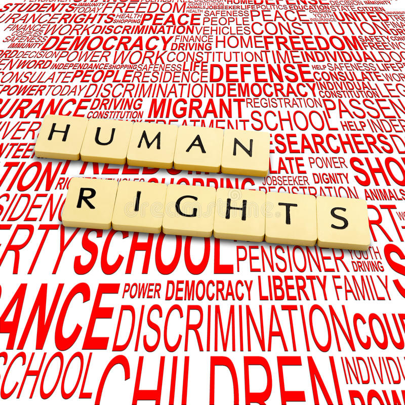 Human Rights Royalty Free Stock Photo