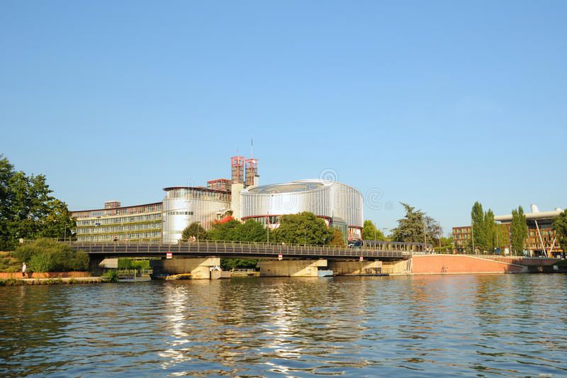 Download Human Rights Building In Strasbourg Royalty Free Stock Photography - Image: 26699387