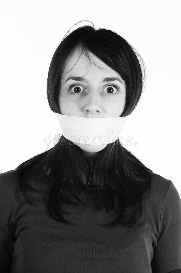 Human rights - Freedom of speech stock images