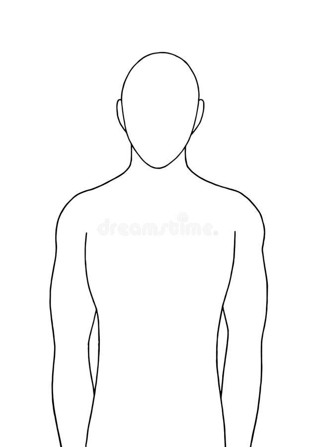 Human standing vector illustration design hand drawing vector illustration