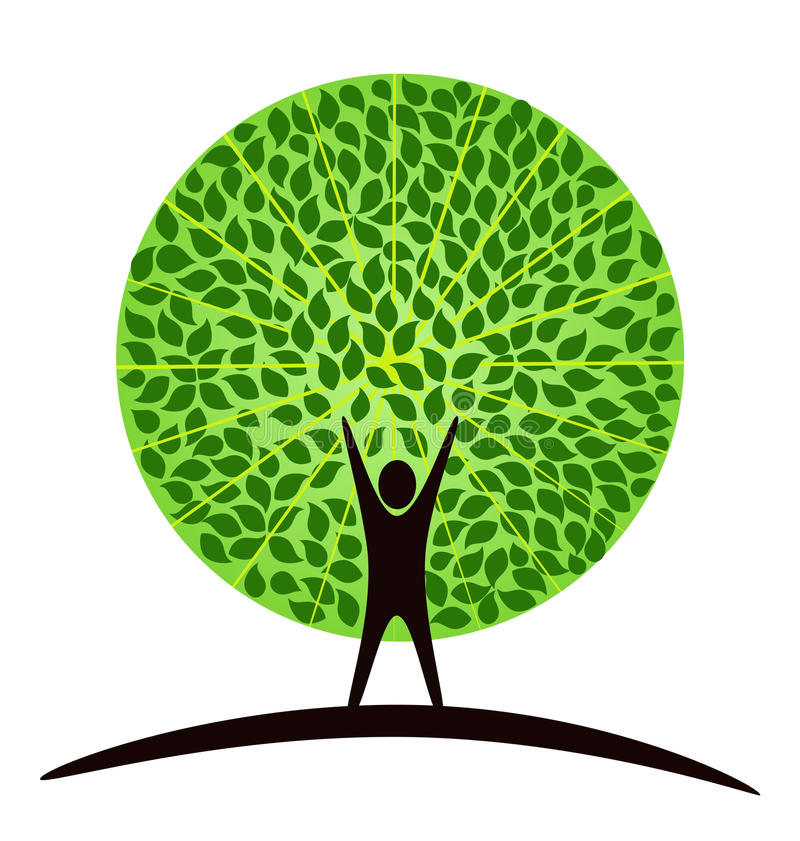 Download Human tree stock vector. Illustration of isolated, plant - 12884351