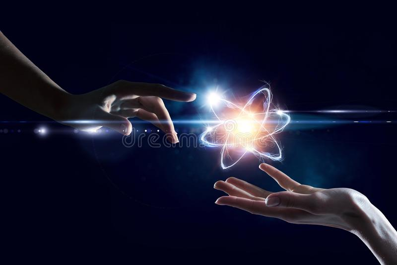 Humanidade e ciência foto de stock royalty free
