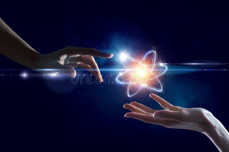 Humanidade e ciência fotografia de stock