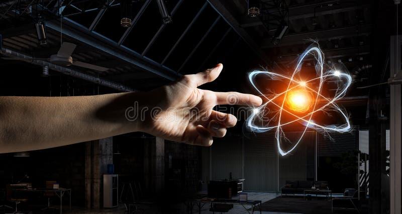 Humanidade e ciência imagem de stock