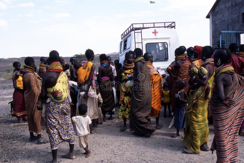 Humanitaire hulp royalty-vrije stock foto's
