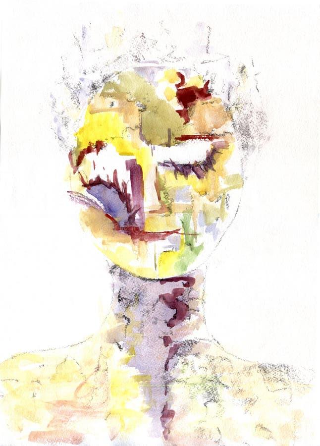 humanoid imagem de stock