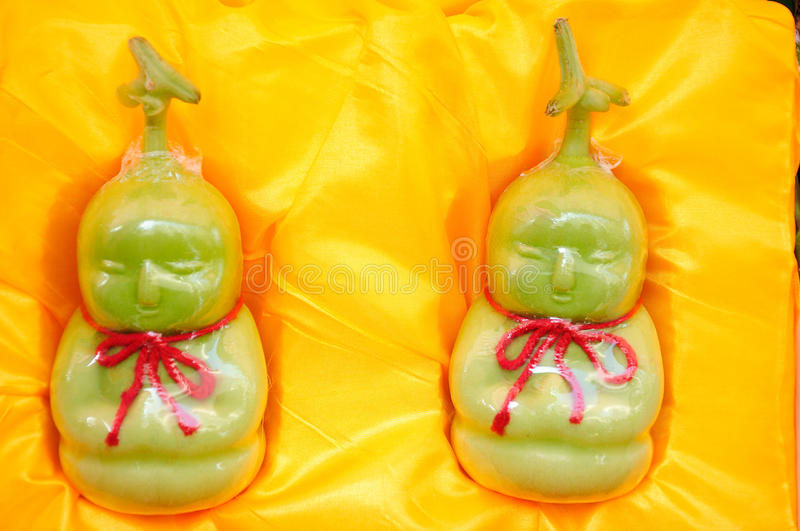 Humanoid fruit. Is a kind of fruit royalty free stock images
