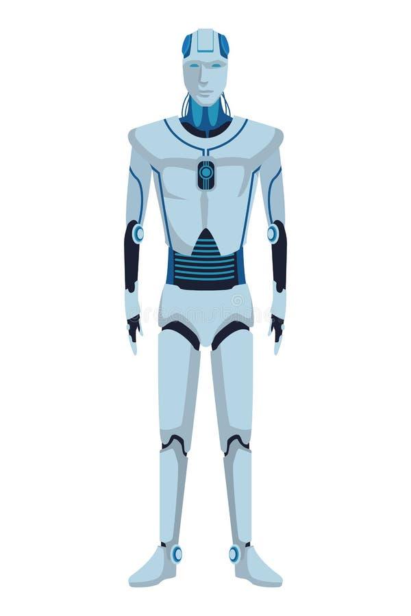 Humanoid Roboteravatara stock abbildung