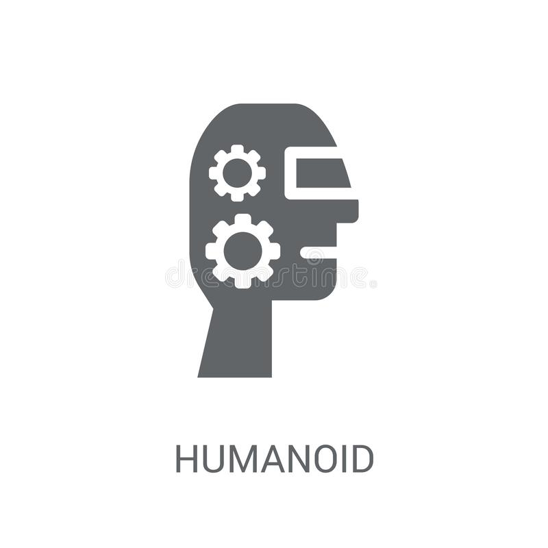 humanoidpictogram  vector illustratie
