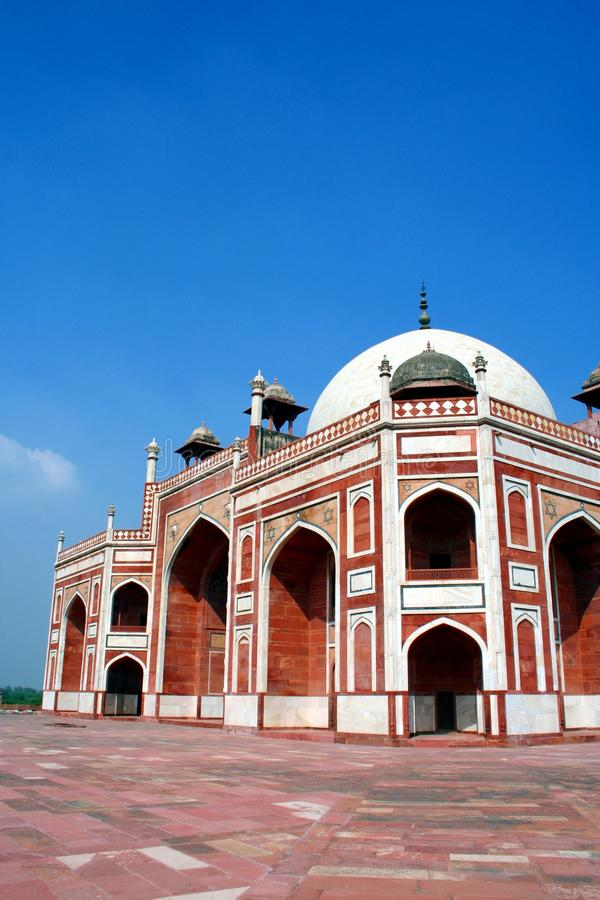 Download Humayan's Tomb stock photo. Image of delhi, white, architecture - 11158186