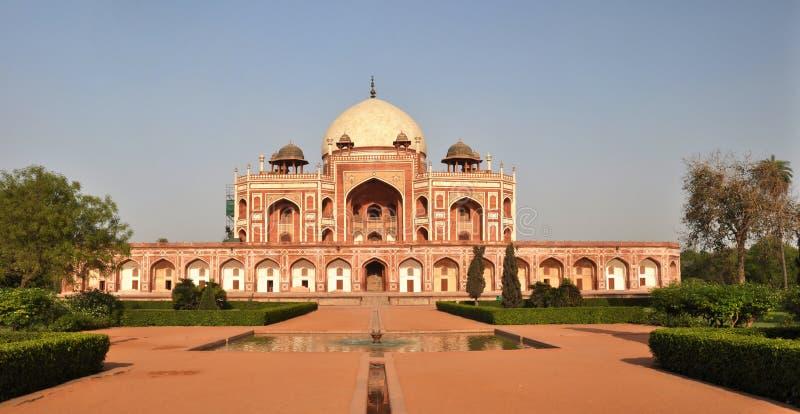 Humayan's Tomb Panorama, New Delhi India royalty free stock images