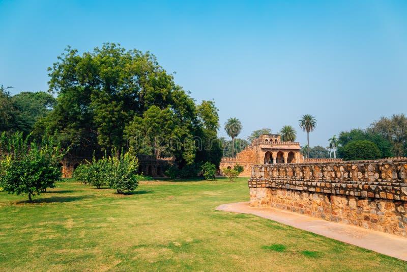 Humayun's Tomb in Delhi, India stock image