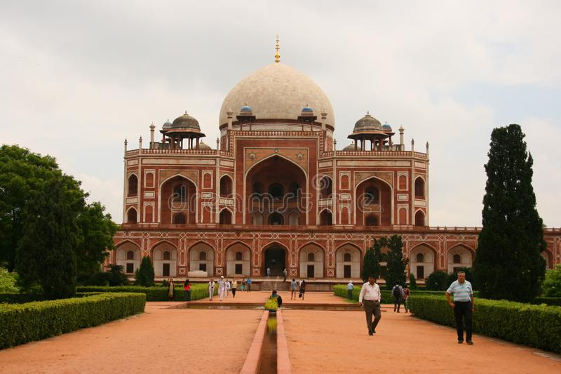 Humayun kciuk, Delhi, India fotografia stock