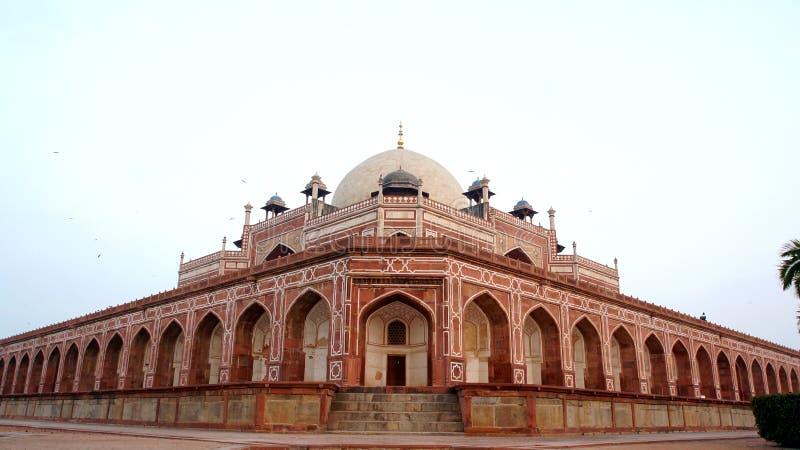 Humayun ` s坟茔复合体,新德里,印度 免版税库存照片