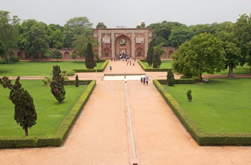 Humayun ` s坟茔,德里,印度 图库摄影