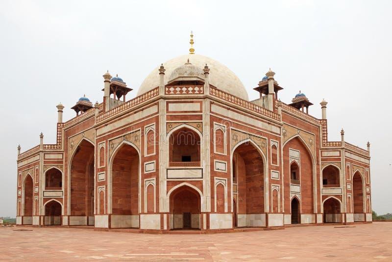 Humayun-` s Grab, Delhi, Indien lizenzfreies stockbild