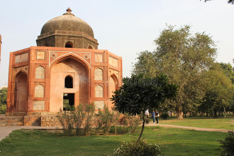 Humayun's tomb, Architectural detail. royalty free stock images