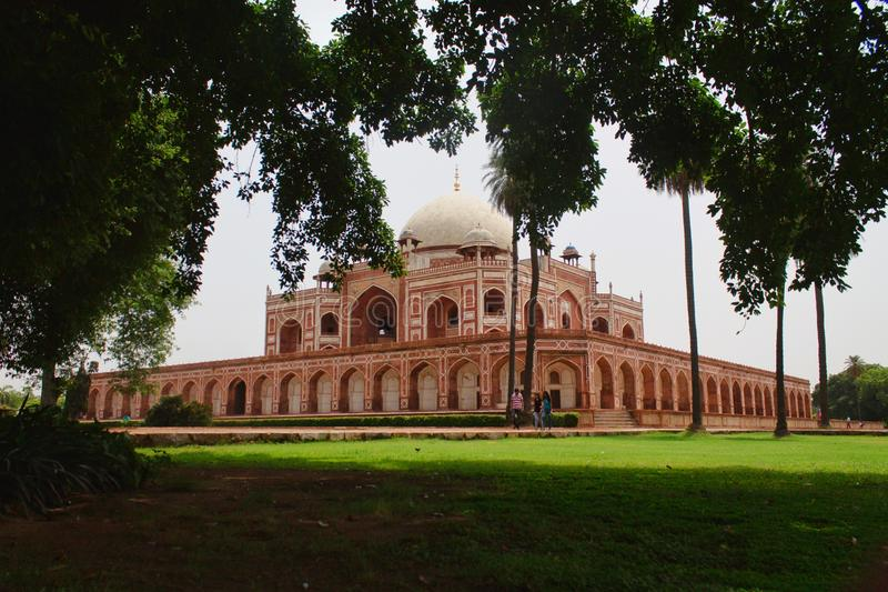 Humayun`s tomb, Delhi, India stock image