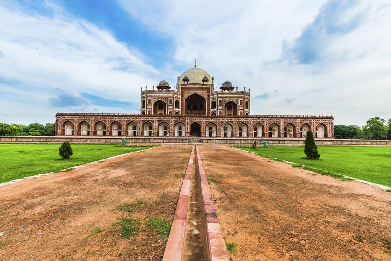 Humayun`s Tomb a world hertigate monument. Humayun`s Tomb, Delhi, a UNESCO World Heritage moments stock photos