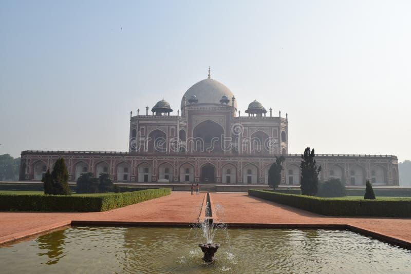 Humayun`s Tomb, New Delhi stock image
