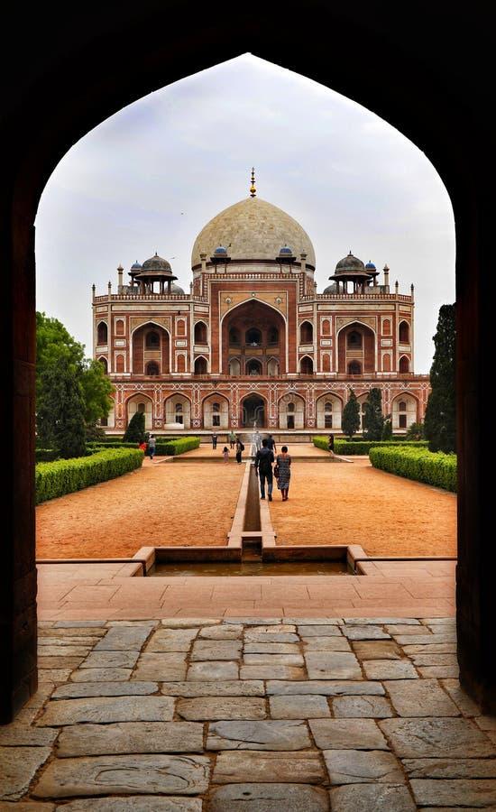 Humayun Tomb fotografia stock libera da diritti