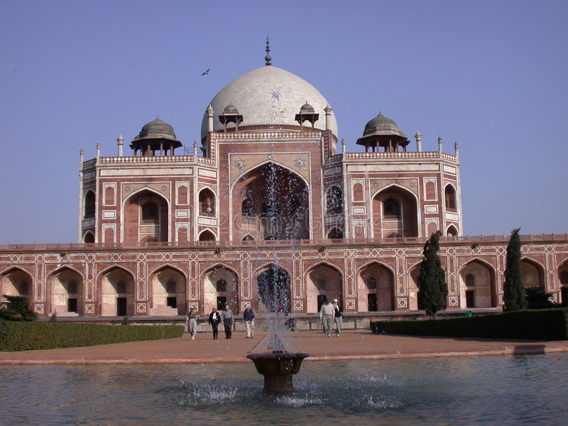 Humayun tomb royalty free stock photo